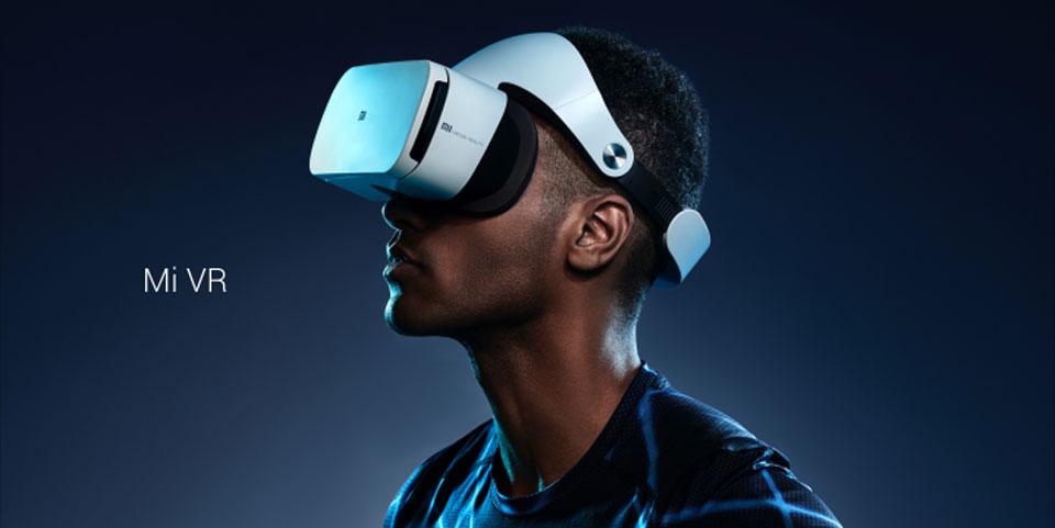 Mi VR Headset White человек спорт