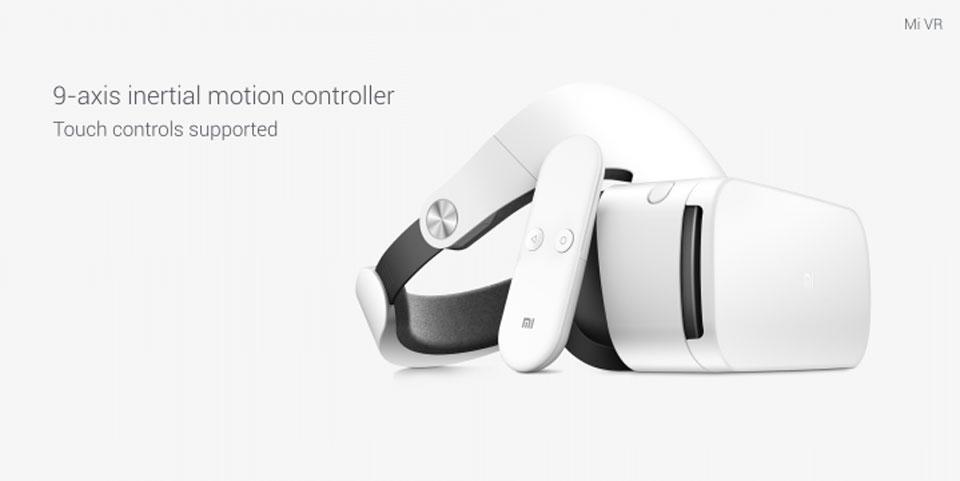 Mi VR Headset White профиль