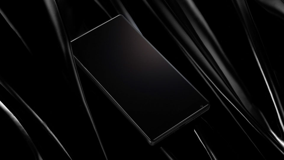Смартфон Xiaomi Mi Mix задняя грань