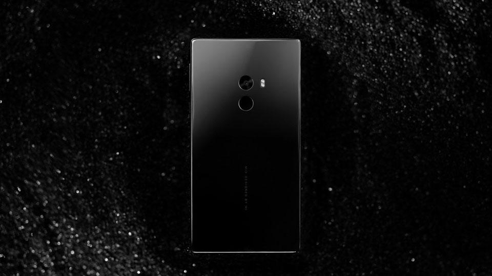 Смартфон Xiaomi Mi Mix фронтальная грань