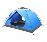 Палатка для кемпинга синяя