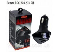 АВТОМОБИЛЬНОЕ ЗАРЯДНОЕ УСТРОЙСТВО НА 3 USB REMAX CAR CHARGER RCC-304