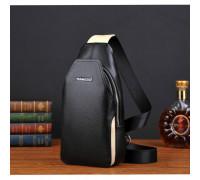 Мужская сумка кожа с просторным основным отделением