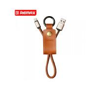 Кожаный брелок-кабель Remax Western Lightning